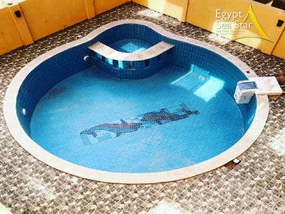 Sea view. Furnished apartment in Hurghada, Egypt, Red Sea