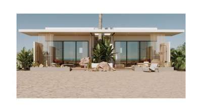 Great offer. Luxury beach house - right on the beach. Installment payment for 7 years