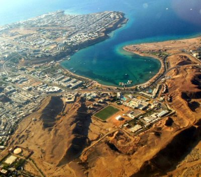 The land of Egypt, the land for the construction of housing in Hurghada.